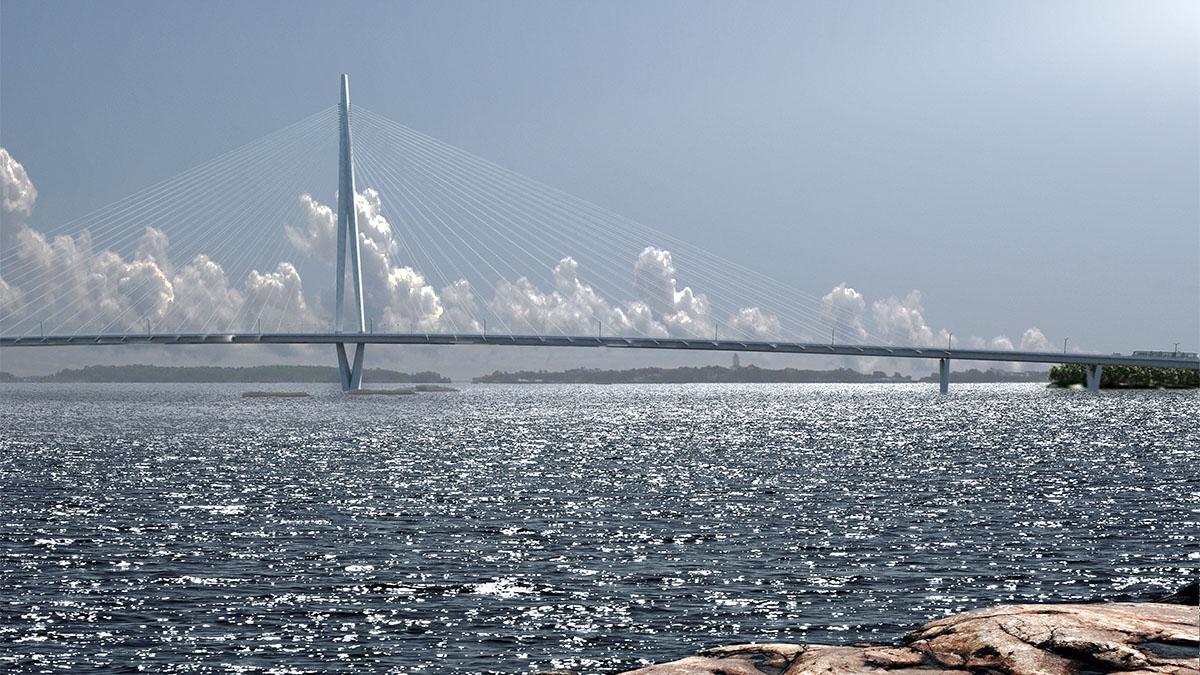 Den framtida Kronbergsbron (WSP, Knight Architects)
